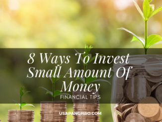 8 Ways To Invest Small Amount Of Money