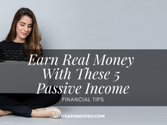 Earn Real Money With These 5 Passive Income