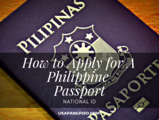 How to Apply for A Philippine Passport