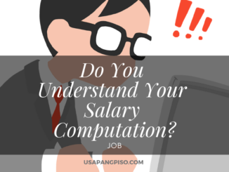 Do You Understand Your Salary Computation?