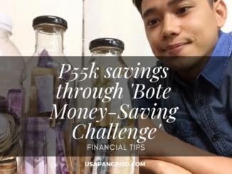 P55k savings through 'Bote Money-Saving Challenge'