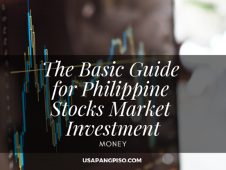 The Basic Guide for Philippine Stocks Market Investment