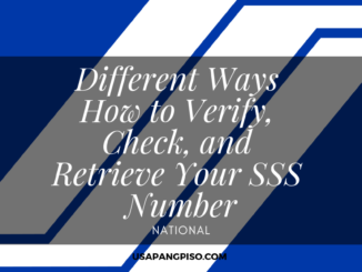 Different Ways How to Verify, Check, and Retrieve Your SSS Number
