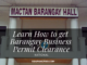 Learn How to get Barangay Business Permit Clearance