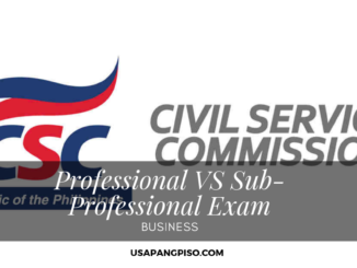 The Difference Between Professional and Sub-Professional Civil Service Exam