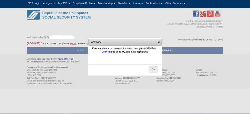 Checking Your Employment History From SSS Website