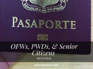 OFWs, PWDs, & Senior Citizens No Longer Needs Online Passport Appointment