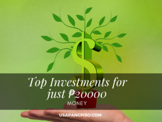 Top Investments for just ₱20000