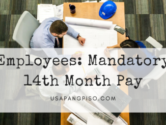Employees: Mandatory 14th Month Pay