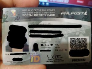 Postal ID Application