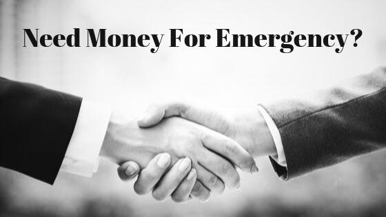 Borrow Money For Emergencies