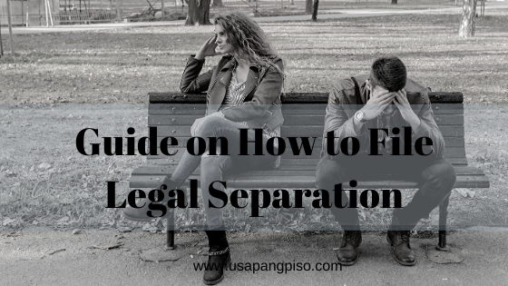File Legal Separation