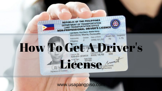 How to get Driver's license